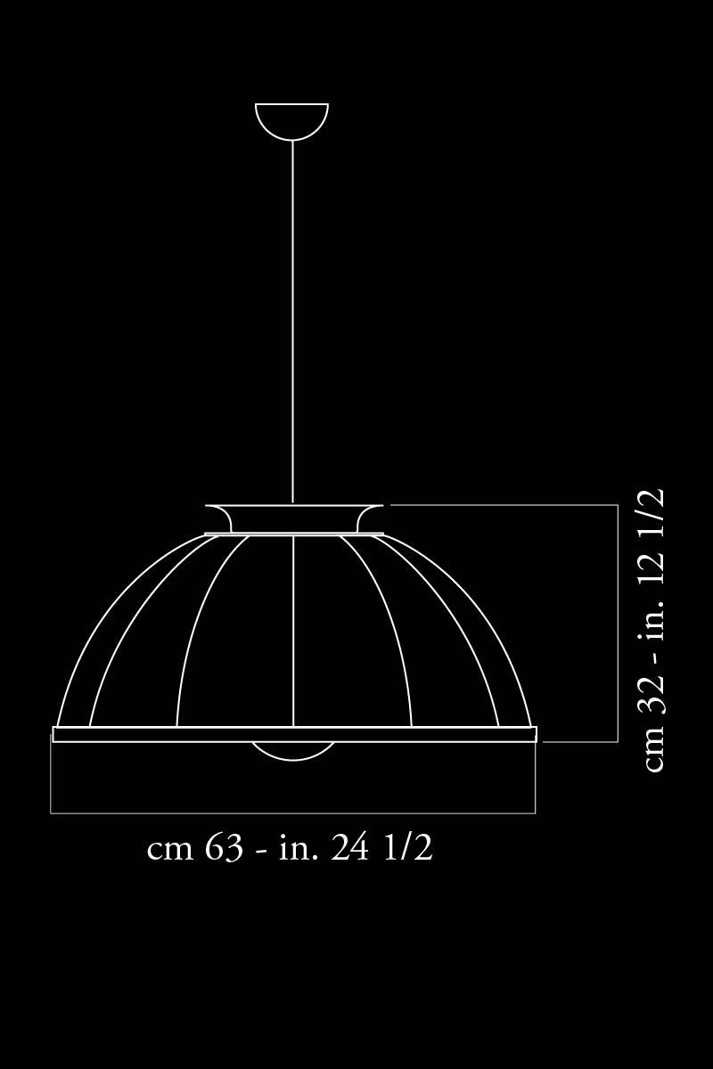 Fortuny Cupola 63 lamp dimensions