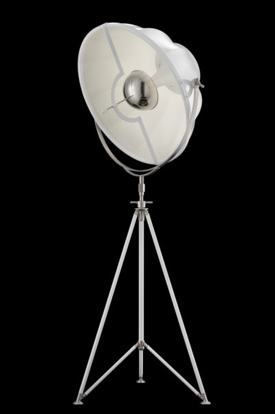 Lampada Fortuny Studio 76 bianca con treppiede