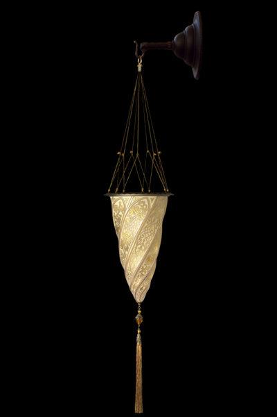 Fortuny Cesendello in vetro oro