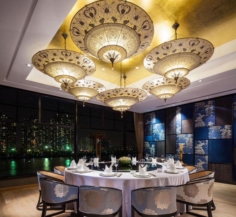 Fortuny Scheherazade al ristorante Y2C2 a Shanghai