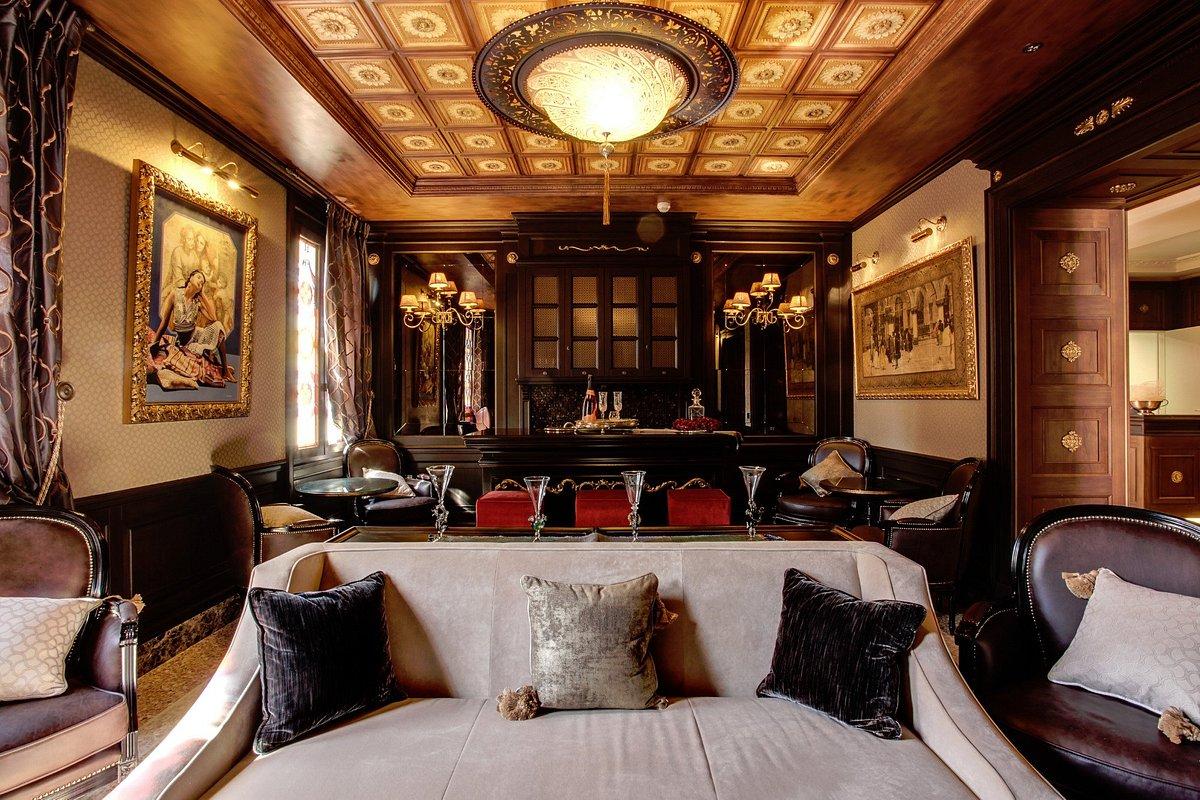Hotel Moresco a Venezia con lampade in vetro Fortuny