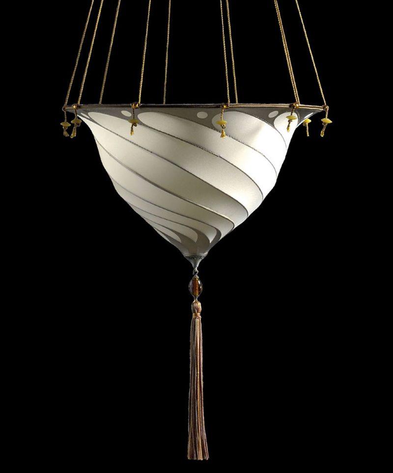 Lampada in seta Samarkanda senza decorazioni