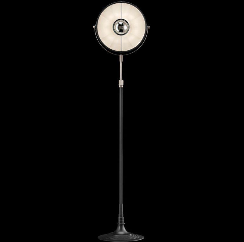 Lampada Fortuny Studio 1907 Atelier 32 bianca e nera