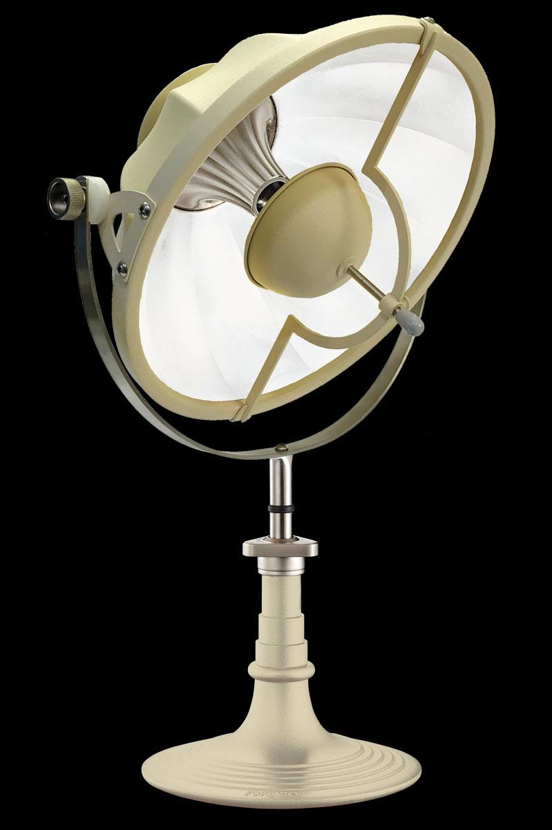 Lampada da tavolo Fortuny Armilla 41 quarzo e bianco