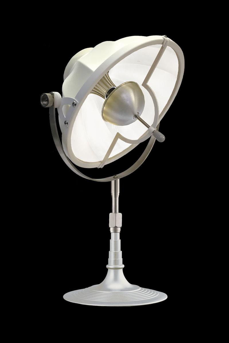 Lampada da tavolo Fortuny Armilla 32 bianca