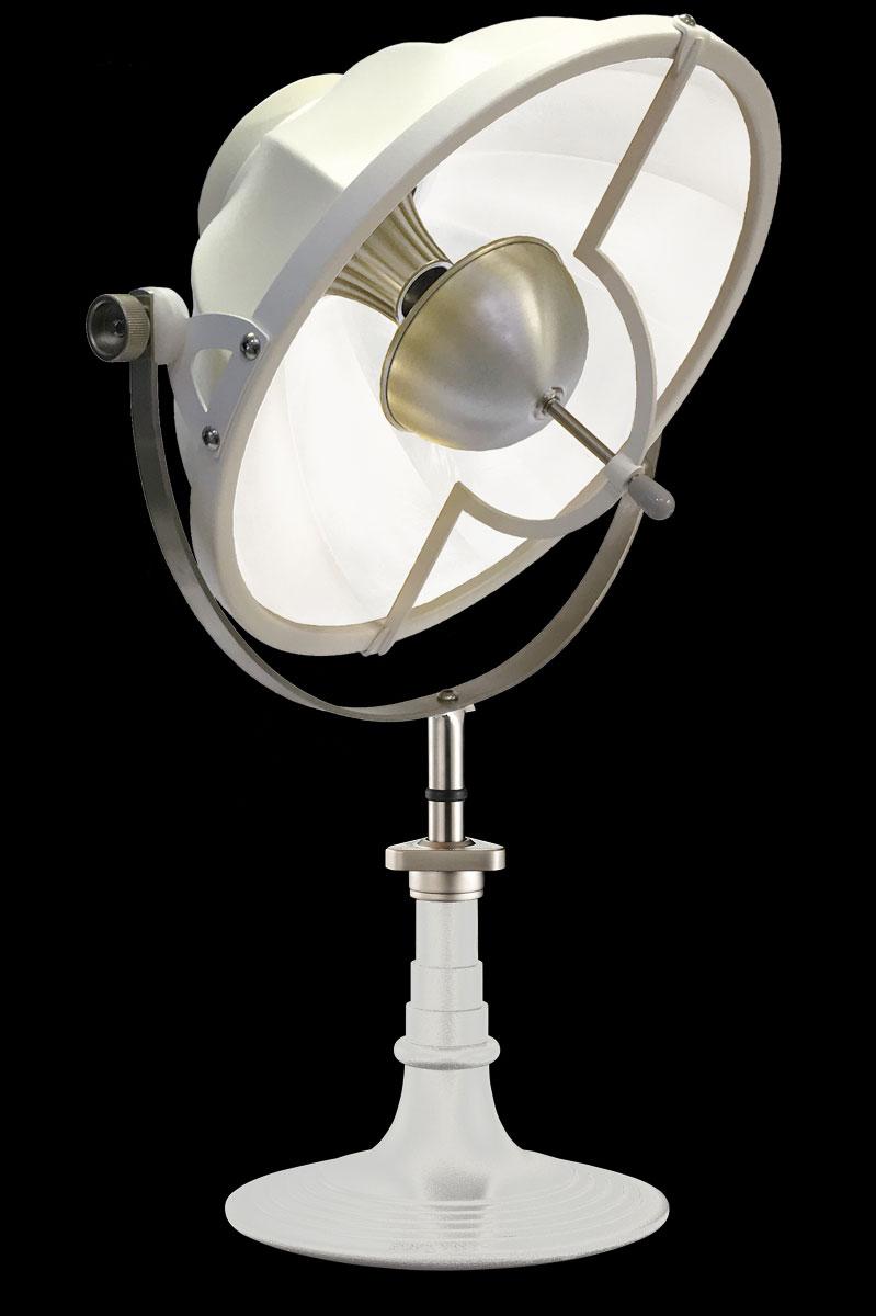 Lampada da tavolo Fortuny Armilla 41 bianca