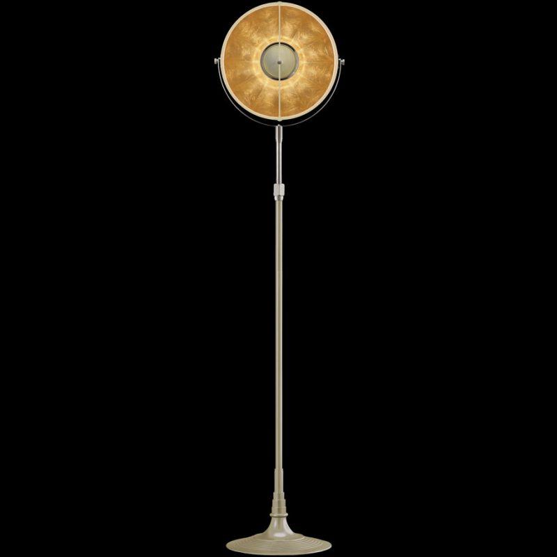 Lampada Fortuny Studio 1907 Atelier 32 quarzo e foglia oro