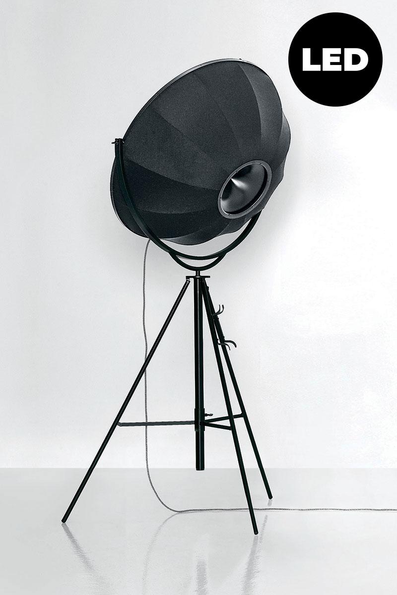 Lampada Pallucco Fortuny LED bianca e nera retro