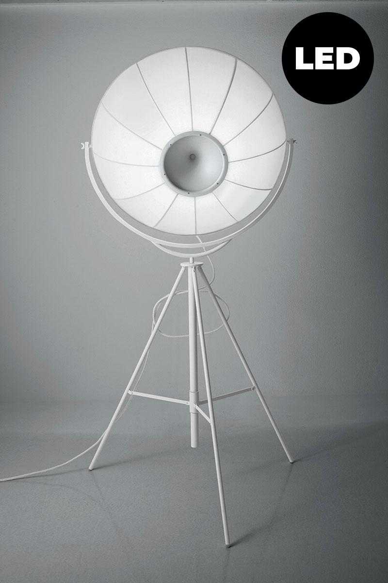 Lampada Pallucco Fortuny Blanca bianca LED retro