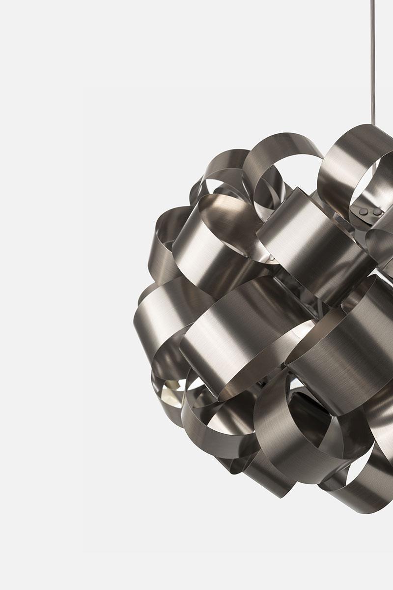 Lampada Pallucco Ring Sphere nichel