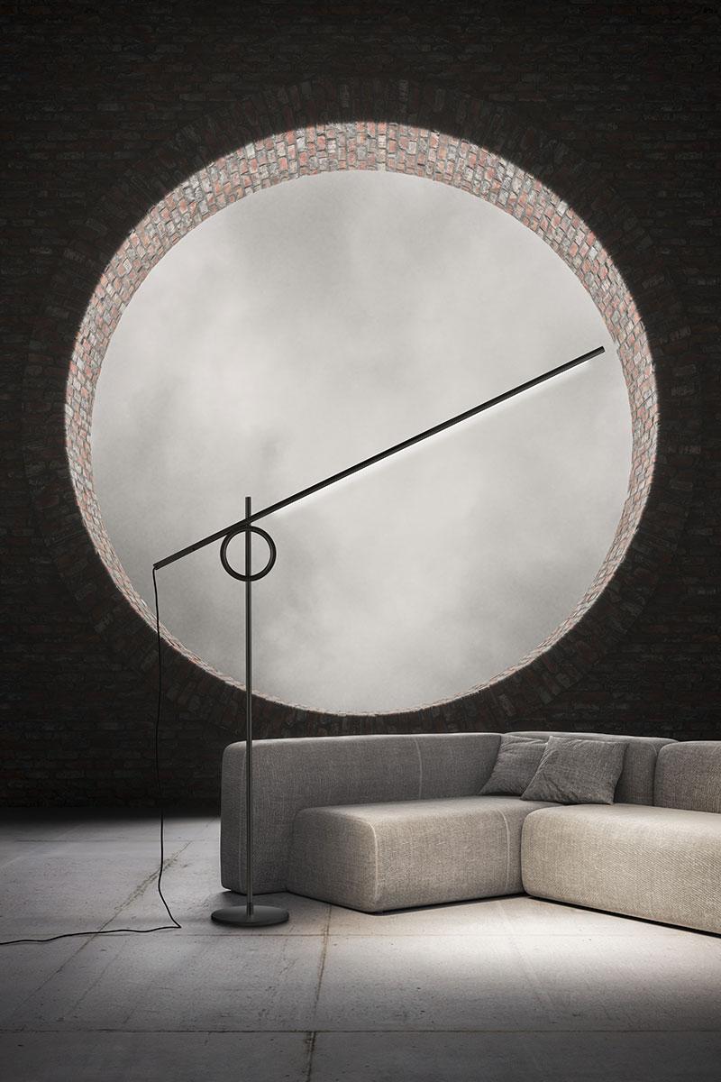 Lampada Pallucco Tangent XL nera