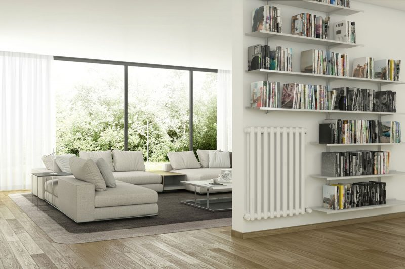 Pallucco Continua silver customizable modular bookcase
