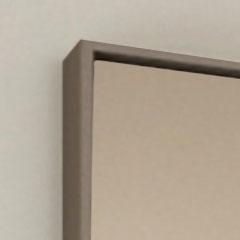 Scocca bronzo perlato con specchio bronzo