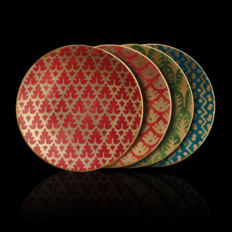 Set piatti canapé Fortuny assortiti (4 pezzi)